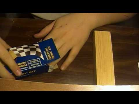 HOW TO BUILD A PINEWOOD DERBY CAR(intro/unboxing)
