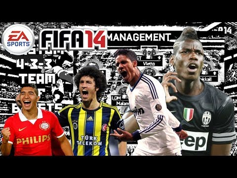 FIFA 14 Best Young Players in Career Mode - The Best Players in ONE TEAM! Amazing Talents