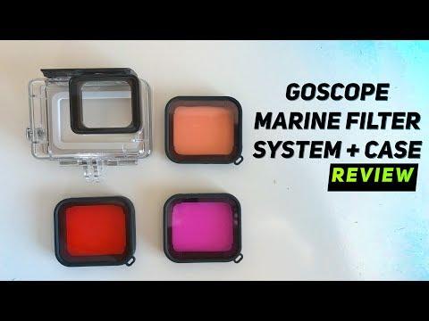 GoScope Underwater FILTERS for GoPro Hero, Hero5, Hero6 REVIEW!