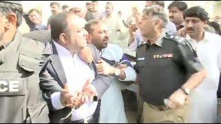 SSP Rao Anwar Ahmed arrests MQM leader Khawaja Izharul Hassan