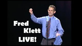 Fred Klett LIVE!   FULL Clean Comedy Special Live at the Riverside Theater   Comedian Fred Klett