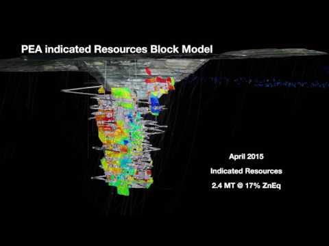 Heron's Woodlawn Zinc-Copper Project - Feasibility Study Flythrough