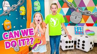 Secret Playroom ESCAPE ROOM Challenge!
