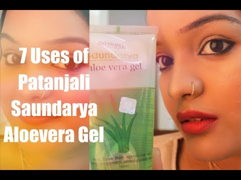 7 Uses of Patanjali Aleovera Gel for Skin and Hair | Top Uses