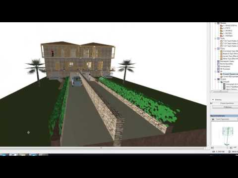3D VIEW IN GREEK ARCHICAD 2012