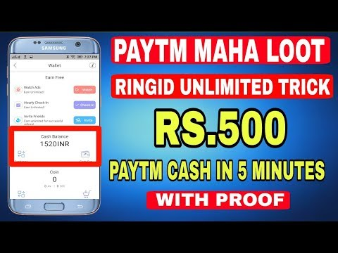 [NOT WORKING] PAYTM ringID Unlimted Trick | Earn Unlimited Paytm Cash In Just 5 Minutes
