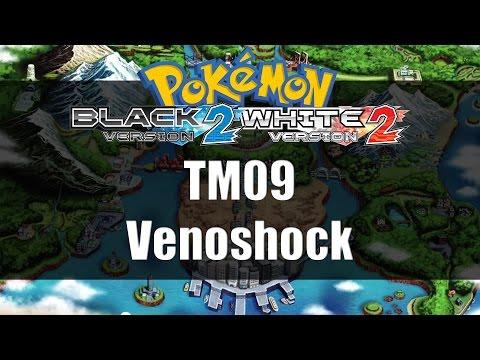 Pokemon Black 2 & White 2 | Where to get TM09 Venoshock