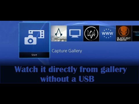 COPY MOVIES TO YOUR PS4 .. best method no joke