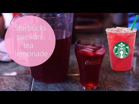 Starbucks Copycat Passion Tea Lemonade & Slushie Version