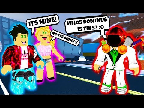 LOST DOMINUS PRANK IN ROBLOX! *EXPOSING FANS* | Roblox Social Experiment
