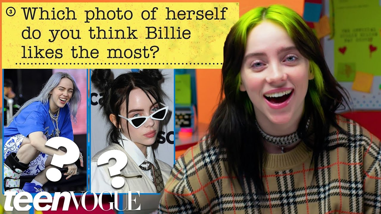 Billie Eilish Guesses How 4,669 Fans Responded to a Survey About Her   Teen Vogue
