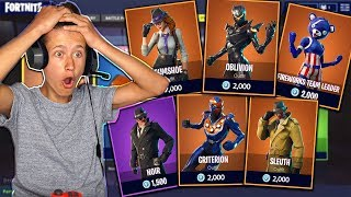 Little Brother Gets New Season 5 Leaked Fortnite Skins! These Skins Are Insane!