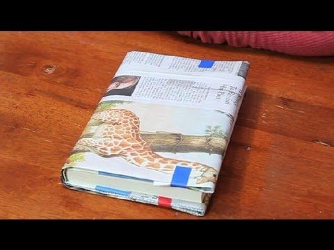 Homemade Book Jacket : Paper Folding Projects