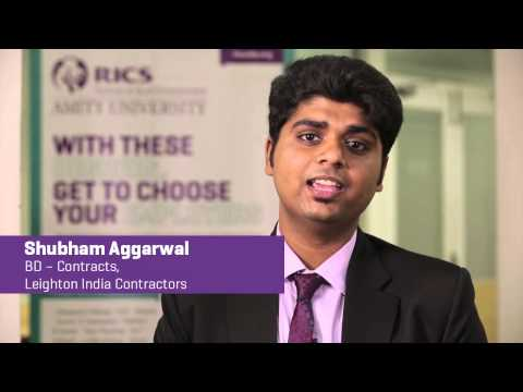 Careers after MBA in Real Estate - Shubham Aggarwal