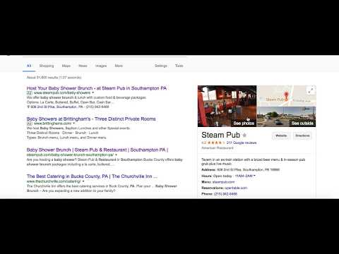 Google Maps for Restaurants - Steam Pub Case Study