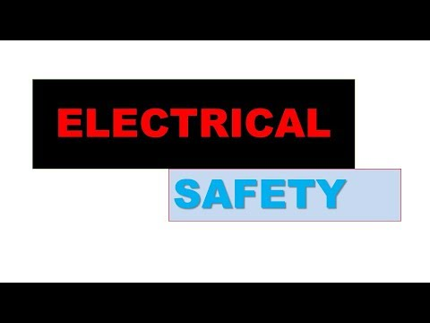 Safety Precaution in Electrical Works