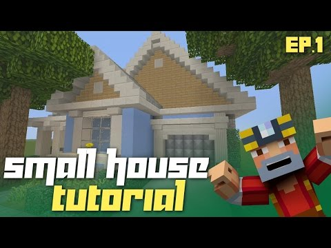 Minecraft Xbox 360: How to Build a Small House - Part 1! (Building Tutorial)