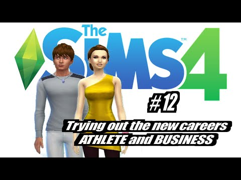 Sims 4: New Careers (Business & Athlete)  EP12