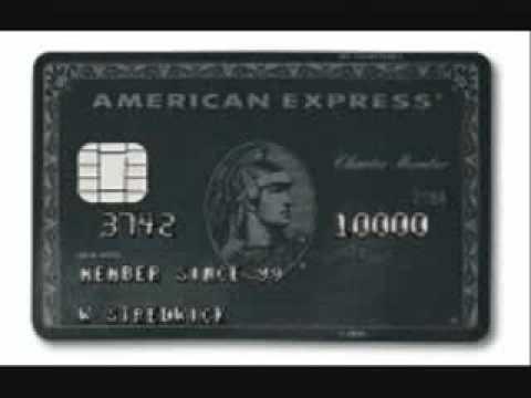 AMERICAN EXPRESS BLACK
