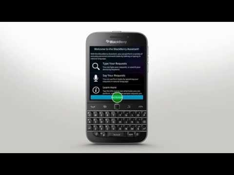 BlackBerry Assistant: BlackBerry Classic - Official How To Demo