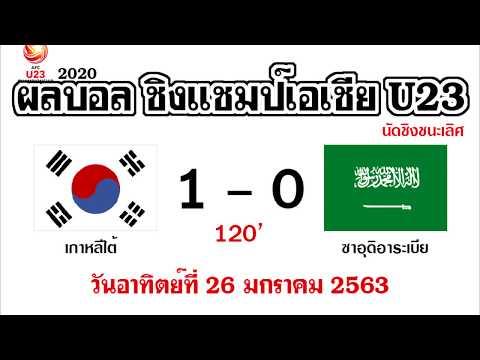 Xxx Mp4 ผลบอลชิงแชมป์เอเชีย U23 วันอาทิตย์ที่ 26 มกราคม 2563 รอบชิงชนะเลิศคัดโอลิมปิก2020 เกาหลีใต้คว้าแชมป์ 3gp Sex