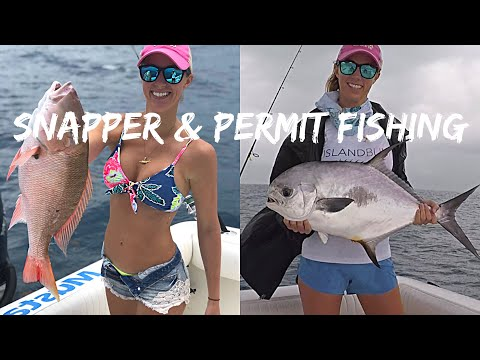 Snapper & PERMIT Fishing with Two Conchs | Florida Keys