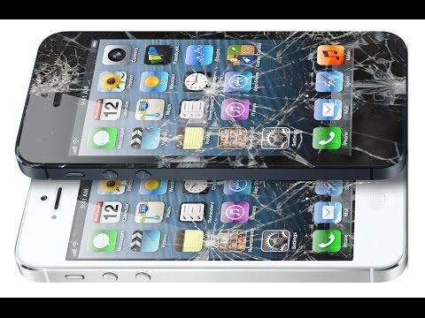 iPhone 5 front glass replacement only