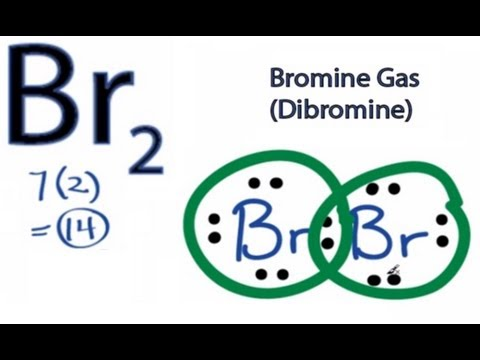 Br2 Lewis Structure - How to Draw the Lewis Dot Structure for Dibromine