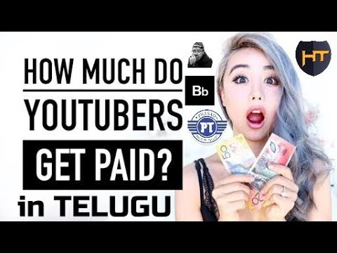 how much do YouTubers earn money from YouTube in Telugu