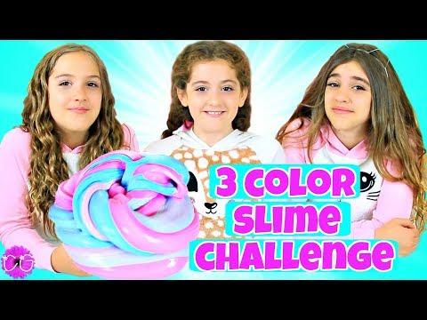 3 Color Slime Challenge!