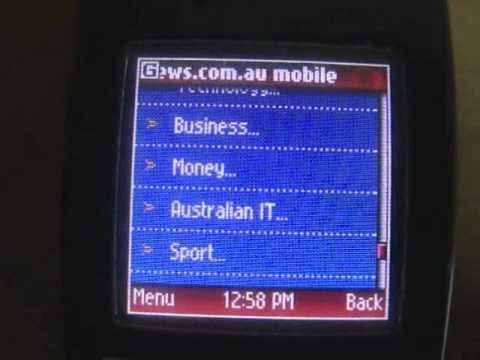 Nokia 6230 Features Demo