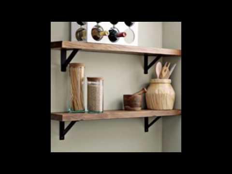 wall shelves brackets