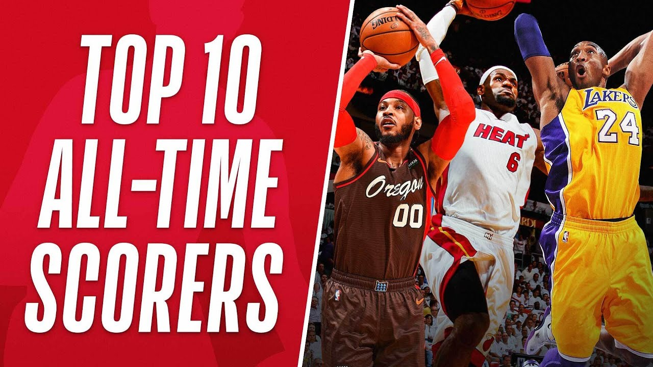 Best Buckets from the Top 10 All-Time Scoring List!