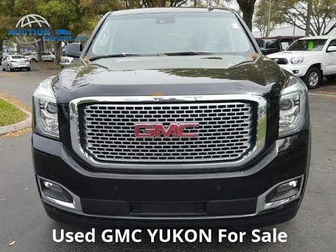 Used GMC Yukon for Sale in USA, Shipping to UAE