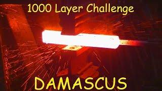 DAMASCUS 1000 LAYER CHALLENGE