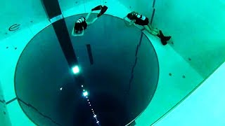 المسبح الأعمق فى العالم