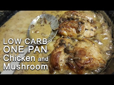 Keto Show: 1-Pan Chicken and Mushroom