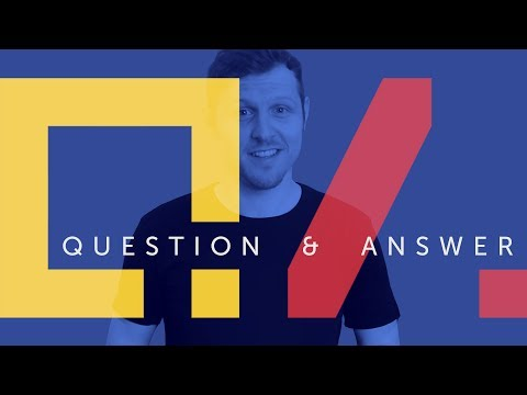 Q&A  |  Ask Me Your Design Questions