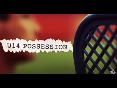 Soccer Coaching Possession Drill: Playing Through The Thirds