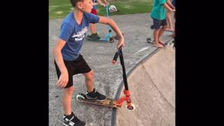 Kid scooter fails