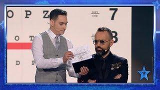 Este MAGO hará un HECHIZO para que olvides cómo se LEE | Semifinal 4 | Got Talent España 2019