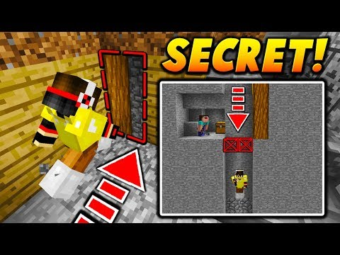 SECRET PASSAGE VOID TRAP! - Minecraft SKYWARS TROLLING (HIDDEN FALL!)
