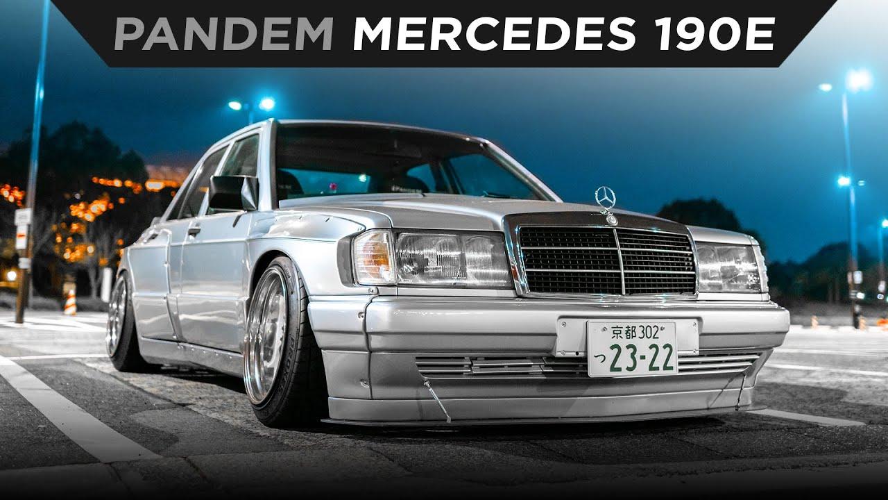 KEI MIURA'S DAILY DRIVEN PANDEM MERCEDES 190E | #TOYOTIRES | [4K60]