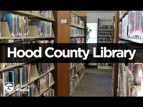 Hood County Library | Library Card & Friends of the Library | August 24, 2016