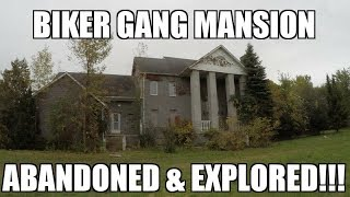 Exploring an Abandoned Biker Gang Mansion