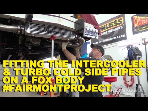 Fitting the Intercooler & Turbo Cold Side Pipes #FairmontProject