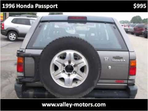 1996 Honda Passport Used Cars Mooresville IN