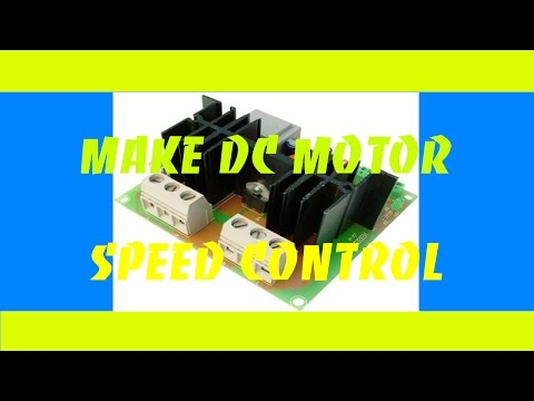 DC Motor Speed Control 0%-100%  - DIY Products