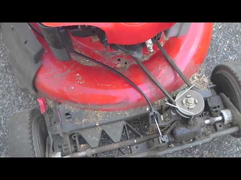 Drive Cable Repair Replacement Lawnmower Troy Bilt