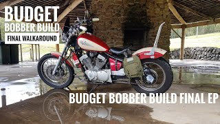 Budget Bobber Build #8 | Rear Pillion Foot Peg Removal and